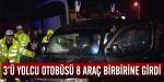 Ankarada zincirleme kaza
