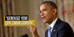 """Obama: """"Ekonomimiz ve güvenilirliğimiz gereksiz yere zarar gördü"""""""