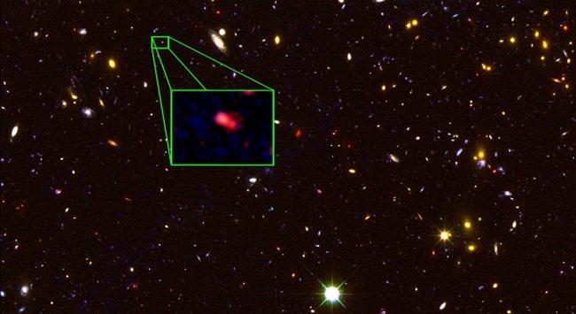 En uzak galaksi gözlemlendi