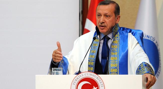 Başbakan Erdoğana fahri doktora