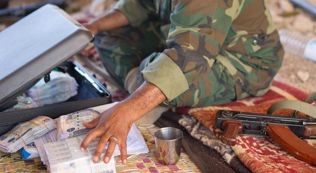 Libyada büyük soygun