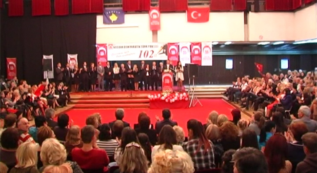 Türk Partisinden tanıtım ve kutlama