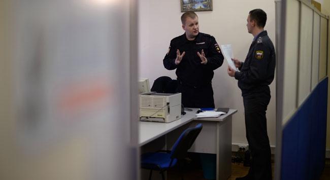 Hırsızlar polis merkezini soydu
