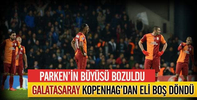 Galatasaray için Parkenin büyüsü bozuldu