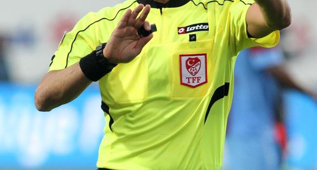 Antalya - Sivas maçının hakemi değişti