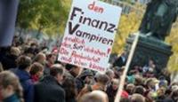 "Almanya'da da ""Frankfurt'u İşgal Et"" Eylemi"