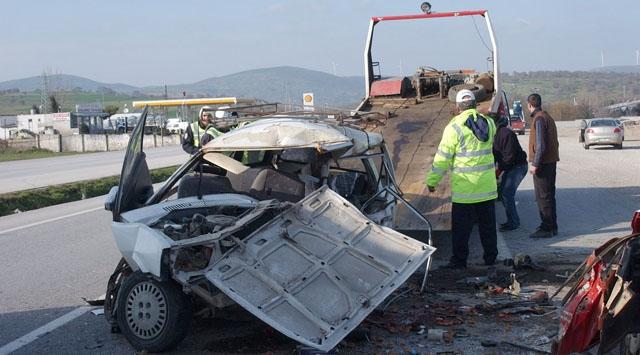 Akşehir ve Susurlukta Trafik Kazası