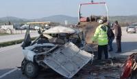 Akşehir ve Susurluk'ta Trafik Kazası
