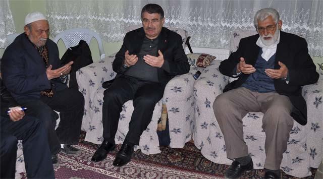 İçişleri Bakanı Şahin Ercişte