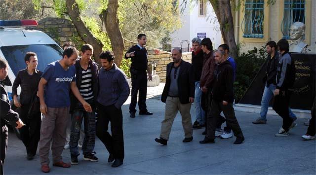 Bodrumda 60 Kaçak Göçmen Yakalandı