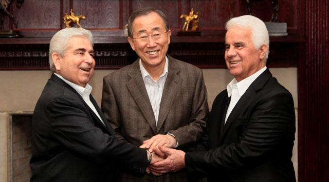 Kıbrıs Görüşmeleri New Yorkta Başladı