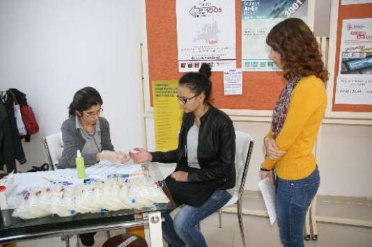 Bozok Üniversitesi öğrencilerinden kan bağışı