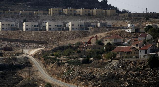 İsrailin yeni yerleşim birimi planı