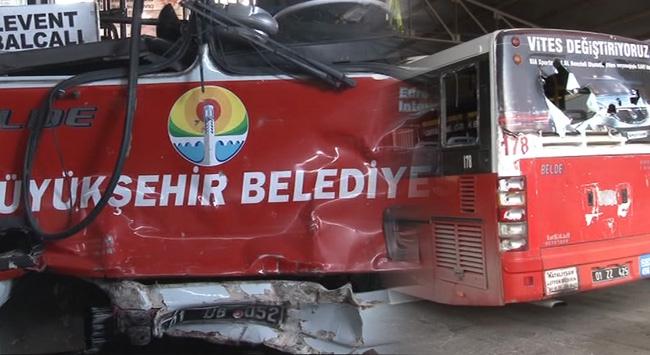 Terör örgütü yandaşları otobüse saldırdı