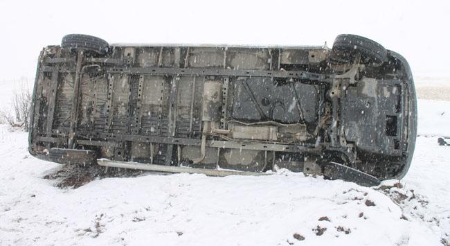 Kar,kazalarla geldi