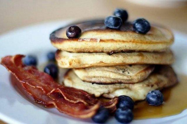 ABD kahvaltısı...