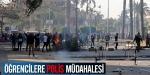 Mısırda öğrencilere polis müdahalesi