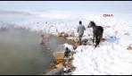 Sibirya soğuklarına medyan okuyorlar