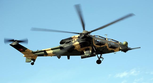 ATAK helikopteri teslim ediliyor