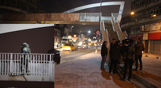 İstanbulda şüpheli paket paniği