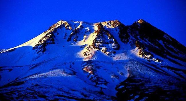 Bir dağcı Hasan Dağında kayboldu