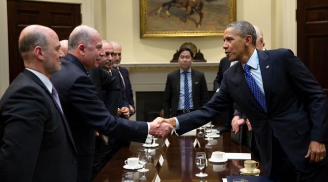 Obama, Irak Meclis Başkanı Nuceyfi ile görüştü
