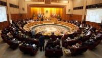 Arap Birliği İsrail'i Kınadı