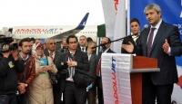 Cengiz Topel Havaalanı Hizmete Açıldı