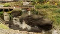 Bir Asırlık Baraj Böyle Patlatıldı