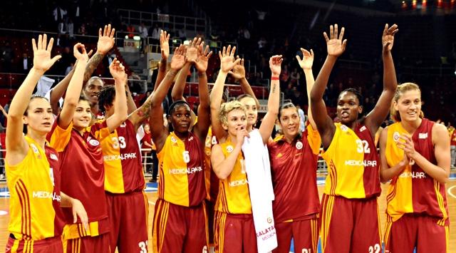 Bayan Basketbolu Derbisi Galatasaray MPnin