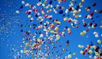 Barış için Balon Uçurdular