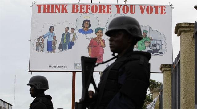 Liberyada Gergin Seçim