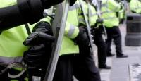 İngiltere'de Harç Protestosu