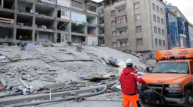 ODTÜnün Van Depremi Raporu