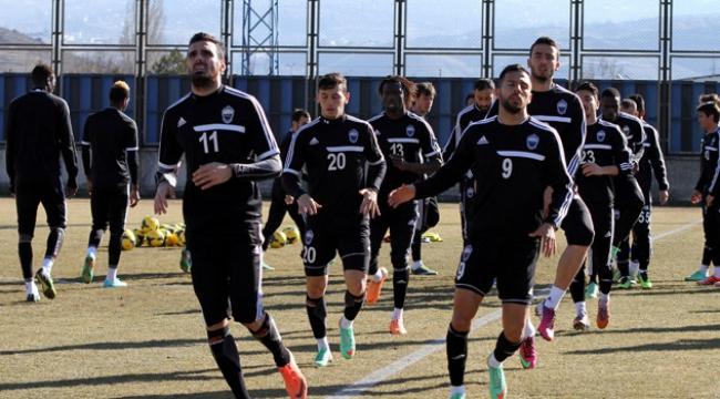 Kayseri Erciyessporda Çaykur Rizespor maçı hazırlıkları