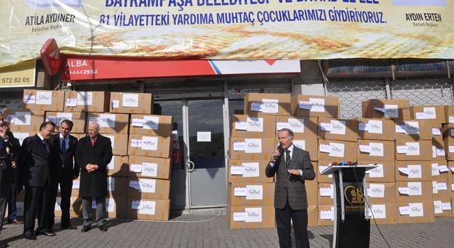Minikler için 10 bin kazak