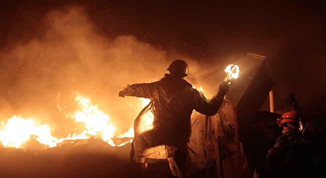 Protestodan kaosa Ukrayna