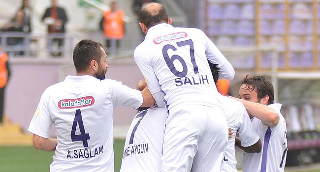 Orduspor 3 puanı 3 gol ile aldı