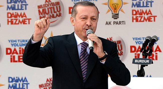Başbakan Burdurda konuştu