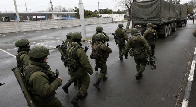 Kırımda askeri hastane kuşatıldı