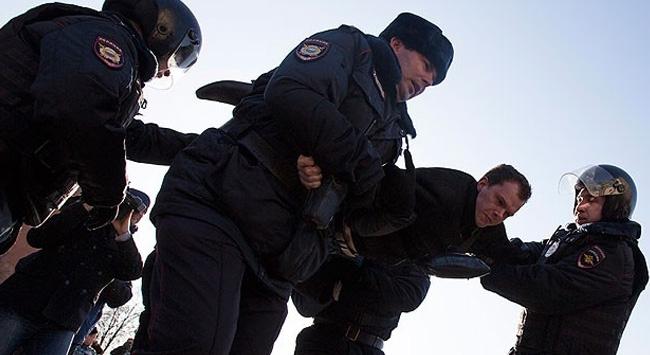 Rusyada gösteriler düzenlendi