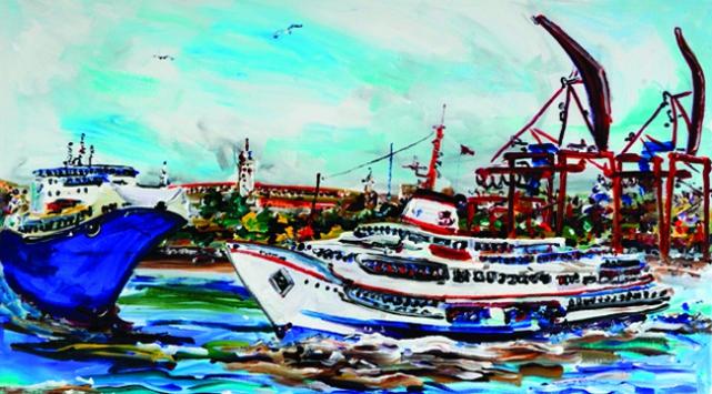 Dünyaca ünlü ressam İstanbulu resmetti