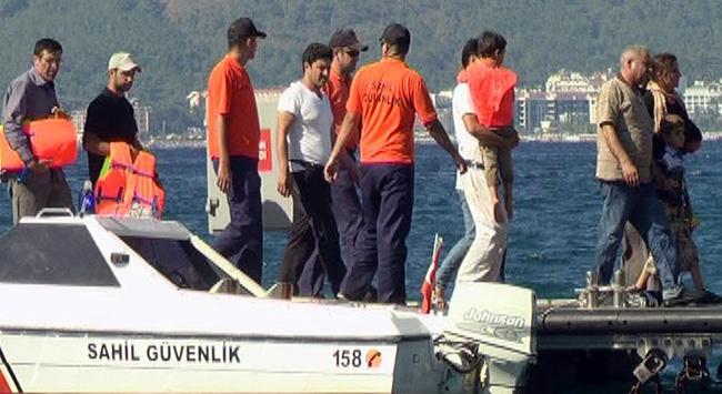 Ege Denizinde 12 kaçak yakalandı