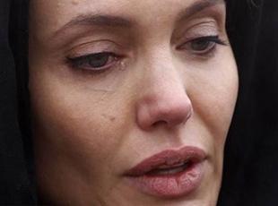 Angelina Jolie, Srebrenitsada ağladı