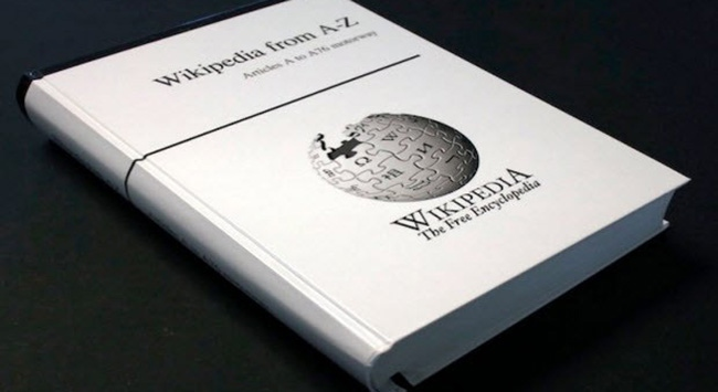 Wikipedia kitap oluyor