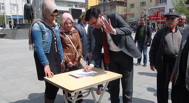 İdamların durdurulması için imza kampanyası