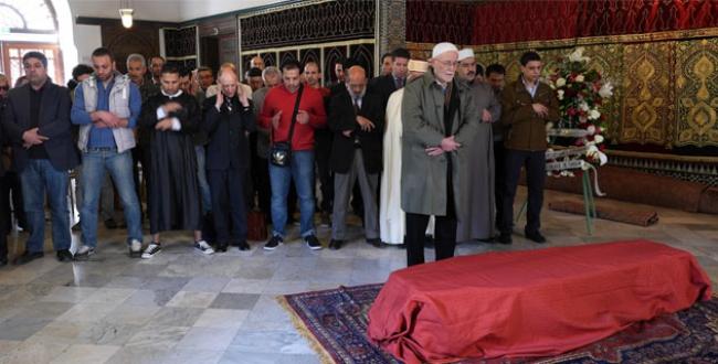 Fevziye Osmanoğlu Paris'te toprağa verildi