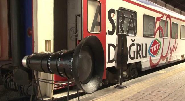 TRT treni Samsun'da
