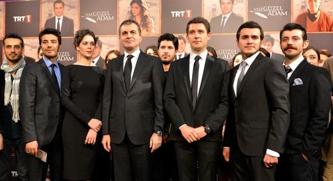 'Yedi Güzel Adam' dizisinin galası yapıldı