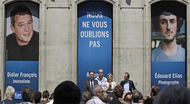 Fransız gazeteciler serbest